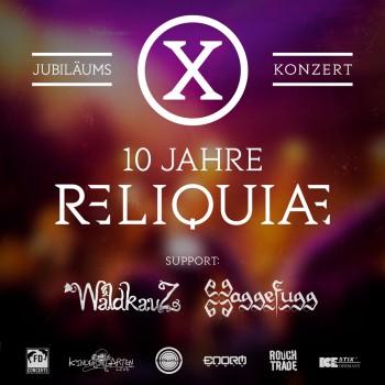 10 Jahre RELIQUIAE – Jubiläumskonzert 2020