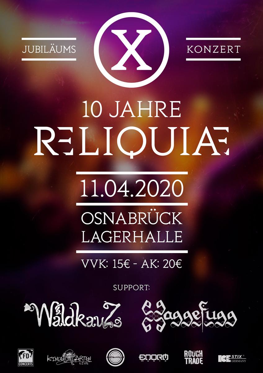 Jubiläumskonzert - 10 Jahre Reliquiae
