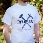 RELIQUIAE Bergmann T-Shirt Detail